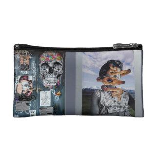 GRAY Street Art Cosmetics Bag