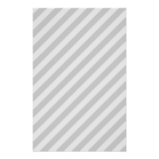 Gray Stripes. Personalized Flyer