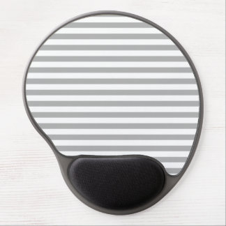 Gray Stripes Gel Mouse Pads