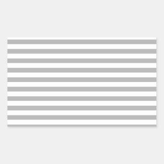 Gray Stripes Sticker