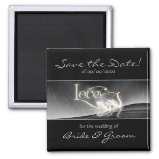 Gray Swans Save the Date Magnet