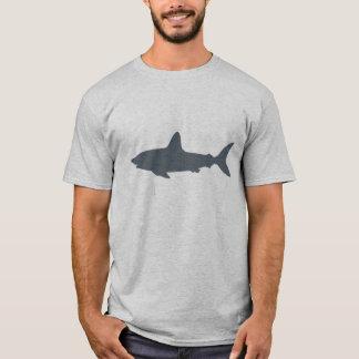 Gray Swimming Shark T-Shirt