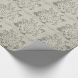 gray swirl of butterflies tiled paper