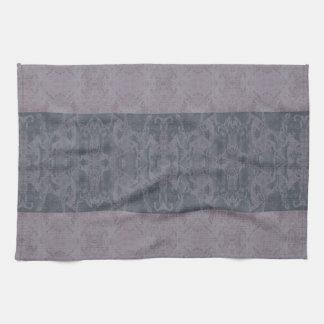 gray tea towel