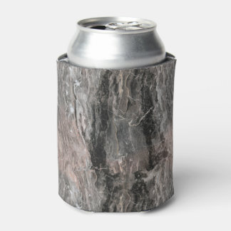 Gray Tones Marble Texture Can Cooler