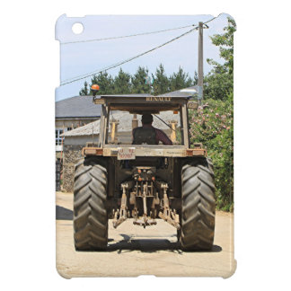 Gray Tractor on El Camino, Spain Cover For The iPad Mini