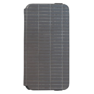 Gray vertical tiles incipio watson™ iPhone 6 wallet case