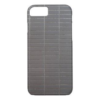 Gray vertical tiles iPhone 7 case
