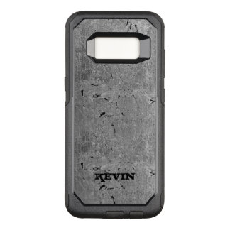 Gray Vintage Grungy Texture OtterBox Commuter Samsung Galaxy S8 Case