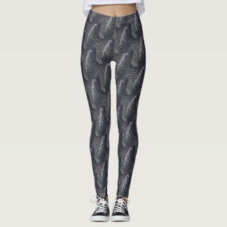 Gray Waves - Leggings