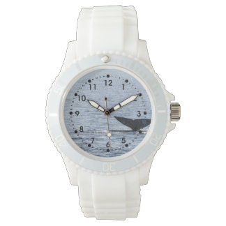 Gray Whale Tail Wristwatches