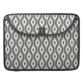 "Gray & White  rhombuses Macbook Pro 15"" Sleeve For MacBooks"