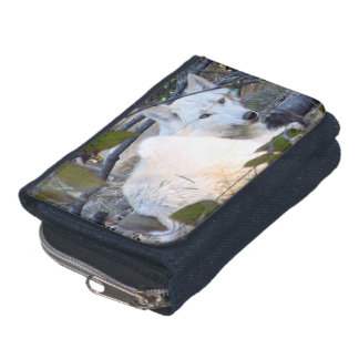 Gray Wolf Denim Wallet