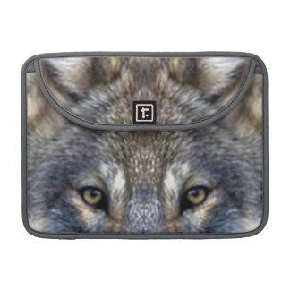 Gray Wolf Sleeve For MacBooks