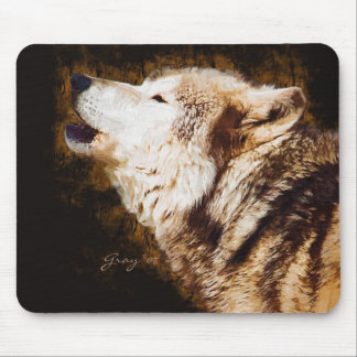 Gray Wolves of Yellowstone Mouse Pad