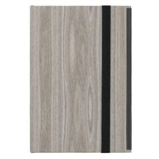 Gray Wood Grain Case For iPad Mini