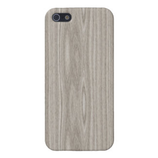 Gray Wood Grain iPhone 5 Case