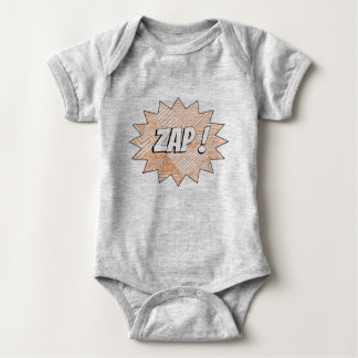 Gray ZAP! Bodysuit