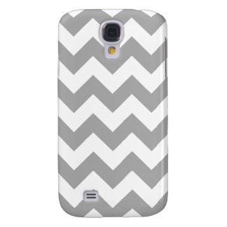Gray Zigzag Pattern Galaxy S4 Cover