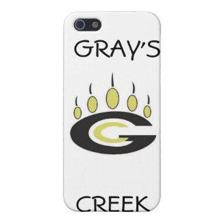 Gray's Creek iPhone 5/5S Case