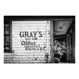 Gray's General Store Photo Art