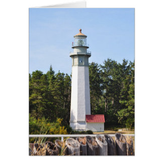 Grays Harbor Lighthouse in West Port, WA Card