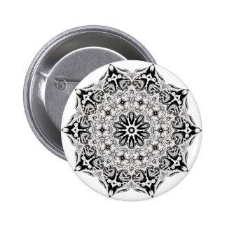 Grays lotus 6 cm round badge