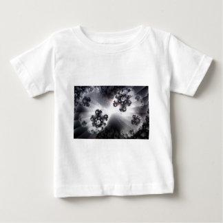 Grayscale Galaxy Baby T-Shirt