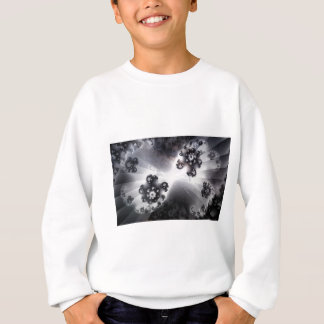 Grayscale Galaxy Sweatshirt