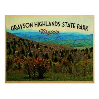 Grayson Highlands Virginia Postcard