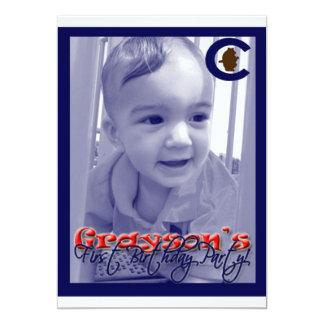 Grayson's B-Day Card
