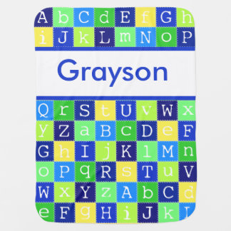 Grayson's Personalized Blanket