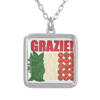 Grazie Silver Plated Necklace
