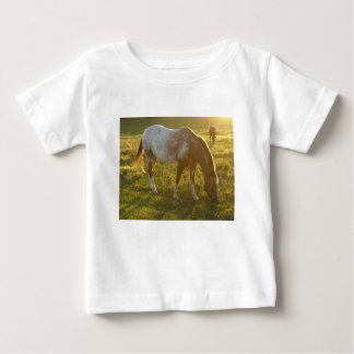 Grazing Appaloosa Horse Baby T-Shirt