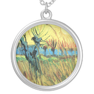 Grazing at sunset by Vincent van Gogh Jewelry