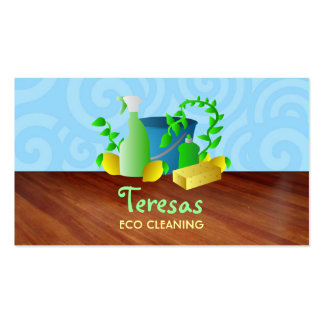 Grean House cleaning business cards