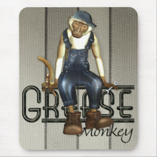 Grease Monkey Mousemat