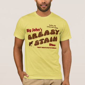 Greasy Stain Diner T-Shirt
