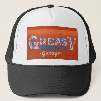 Greasy Wrench Trucker Hat
