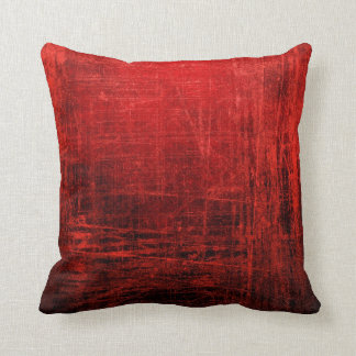 Great Abstract Red Pillow! Cushion