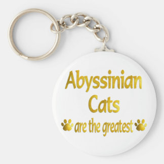 Great Abyssinian Key Ring