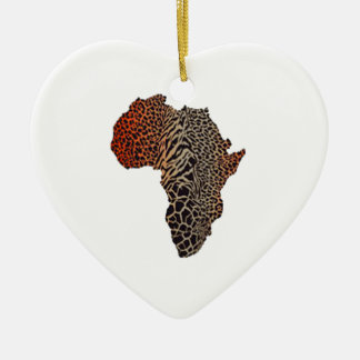 Great Africa Ceramic Ornament