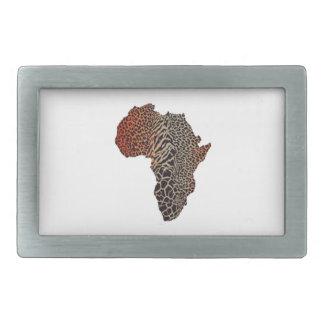 Great Africa Rectangular Belt Buckle