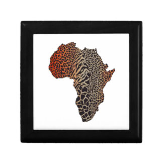 Great Africa Small Square Gift Box