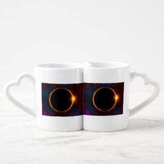 Great American Eclipse Heart Mugs