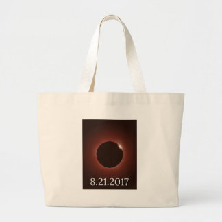Great American Total Solar Eclipse 2017 Large Tote Bag