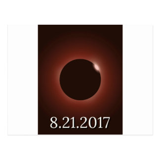 Great American Total Solar Eclipse 2017 Postcard