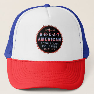 Great American Total Solar Eclipse August 21 2017 Trucker Hat