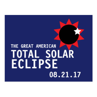 Great American Total Solar Eclipse Postcard