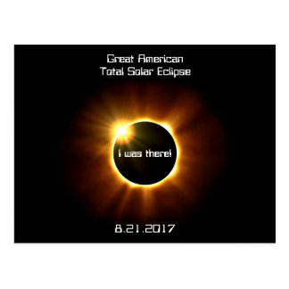 Great American Total Solar Eclipse - Postcard